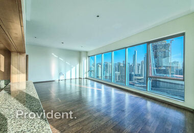 Full Marina View | High Floor | Unfurnished