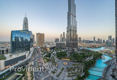 Full Burj Khalifa and Fountain View | Lavishly