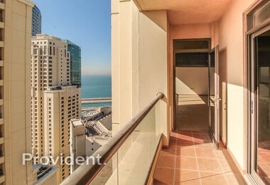 High Level | Marina View | Spacious Balcony
