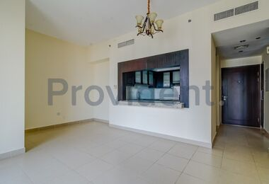 Large One Bed | 2 Balconies | Canal View