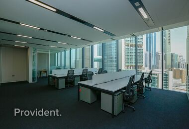 Huge Fitted Office|Prime Location|Index Tower