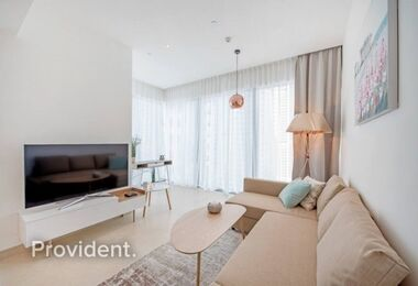 Sophisticated Furnished 2BR Corner|Move in Ready