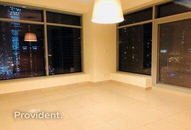 Vacant on Mid Floor with Full Marina View