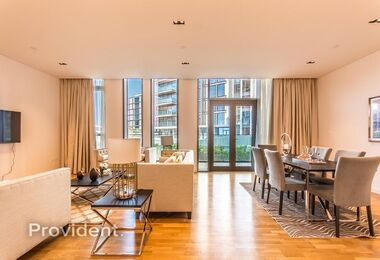 Exclusive Impeccably Furnished 1 B/R | Vacant