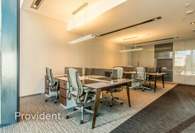 Serviced Office | Well-Maintained | Vacant