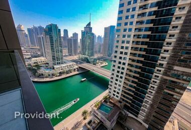 Stylish 1B/R w/ Partial Marina Available on April