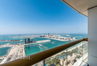 High Floor with Amazing Palm Views | Chiller Free