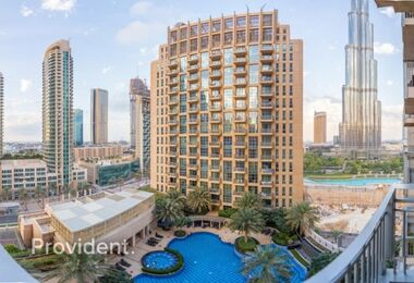 Furnished 3 B/R | High Floor | Burj Khalifa View