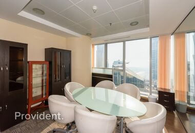 Exclusively Managed Furnished Office on High Floor