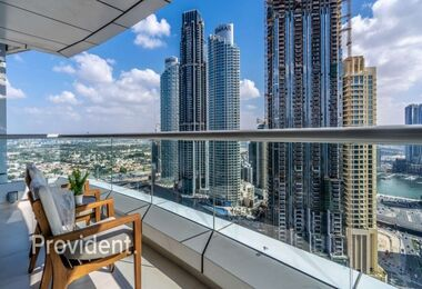 Luxury Furnished | High Floor | Downtown Views