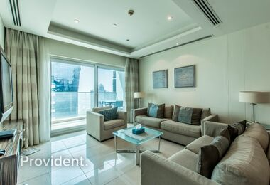 Reduced Price High Floor 3B/R Furnished