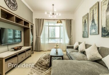 EXCLUSIVE|Luxury Furnished|Next to DMCC Metro Stn
