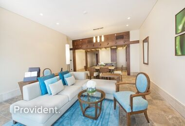 Fabulous Serviced Apartment in a 5-Star Resort