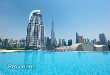 Best 2 Bedroom Deal I Burj Khalifa View |