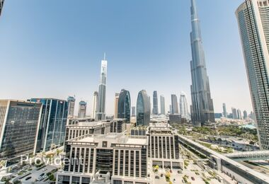 FULL BURJ VIEW | Bright & Fully Furnished
