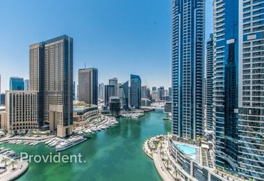 Unobstructed view of Marina | Finest Spacious unit