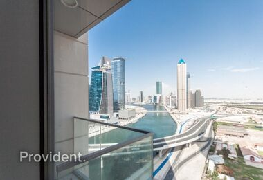 Brand New|Canal facing 1bedroom|Habtoor City
