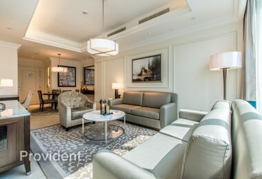 Luxury Furnished  and Serviced, Best Views of Burj