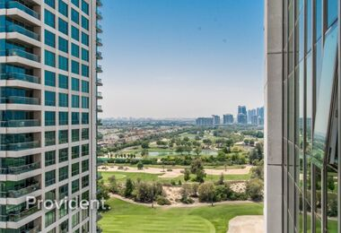 High Floor, Full Golf Course View, Vacant