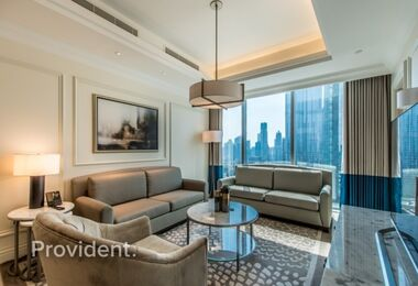 Furnished and Serviced, Burj Khalifa View, Vacant