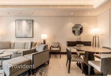 High Floor | Fully Furnished and Serviced