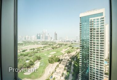Full Golf Course View | Spacious | High Floor