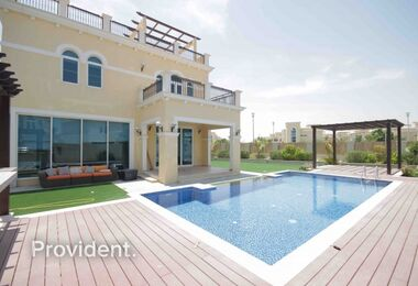 Designed Swimming Pool and BBQ Area, Corner Plot