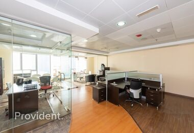 Exclusively Managed, Furnished Office, High Floor