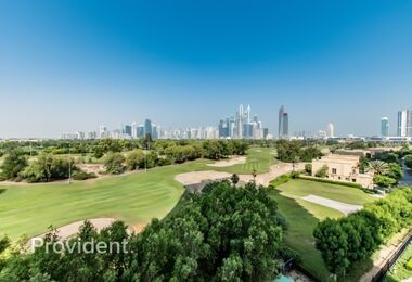 Spacious Apartment with Full Golf Course View
