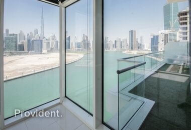 Stunning 3 Bedroom + Maid | Full Canal & Burj View