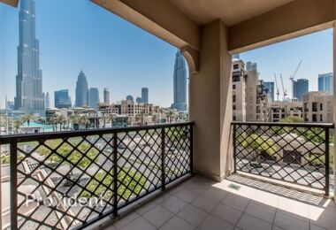 Burj View | Corner Unit | Unique Apartment