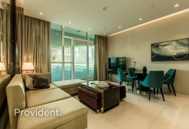 Fabulous 3 BR on High Floor | Serviced Apartment
