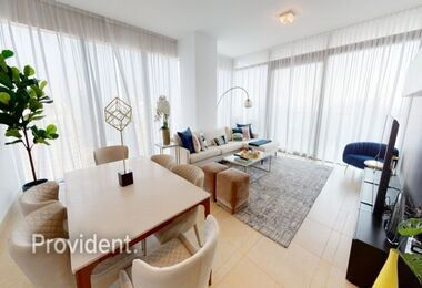 Furnished w/ Maid's room|Corner|Marina View