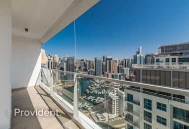 Unfurnished 2BR with Balcony|Marina View|Vacant
