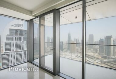 Stunning View Brand New 3 B/R + Maid Apt Downtown