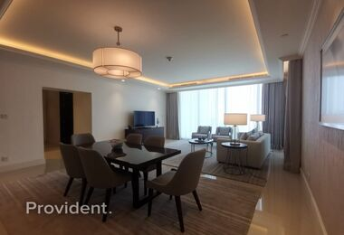 Top Floor | Sky Collection | Full Burj & Fountain