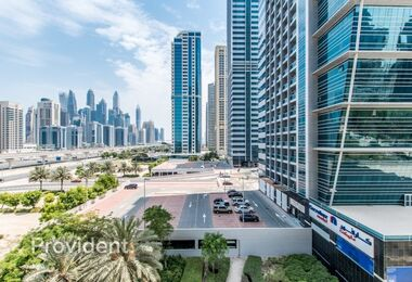 Low Floor Well Maintained  – Madina Tower –  JLT