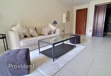 Fully Furnished with Equipped Kitchen | Low Floor