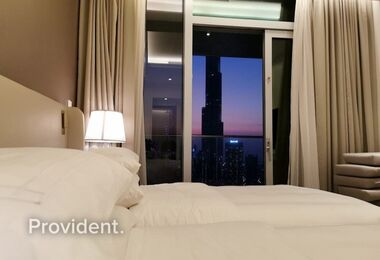 High Floor | Furnished | Burj and Downtown Views