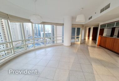 Superb Apt with Marina and Sea View | Vacant Now