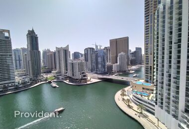 Full Marina View|Unfurnished |Chiller free
