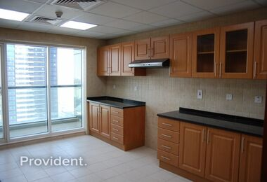 Exclusive! Large 2BR+Maid|Full Lake View
