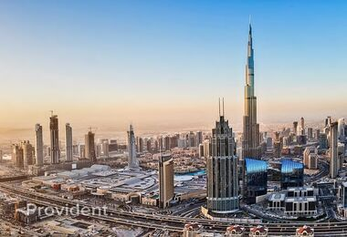 Burj Khalifa and Fountain views|2BR Apt|
