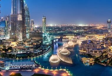Luxury 5BR | Stunning Burj Khalifa views