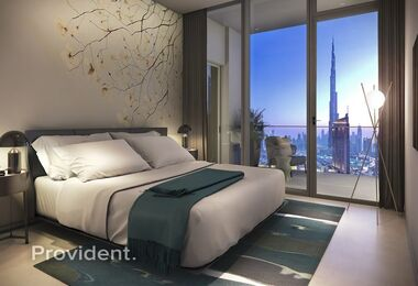 Very High Floor | 1 Bed  with Luxury Finishing|