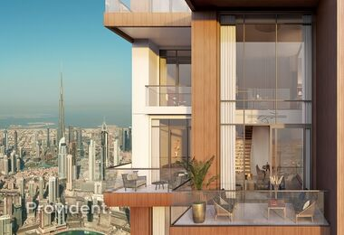 Loft Type Apartments | Burj Khalifa View
