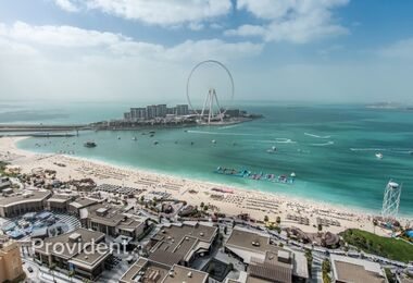 JBR, I-Penthouse 4BR with Sea & Dubai Eye View