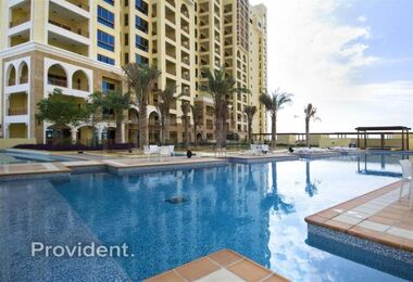 Extended Terrace | Sea & Pool Facing | 2 + Maids