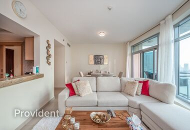 Full Marina View|Captivating and Furnished Apartment