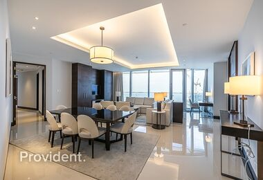 Captivating fully Furnished | Vacant | High Floor